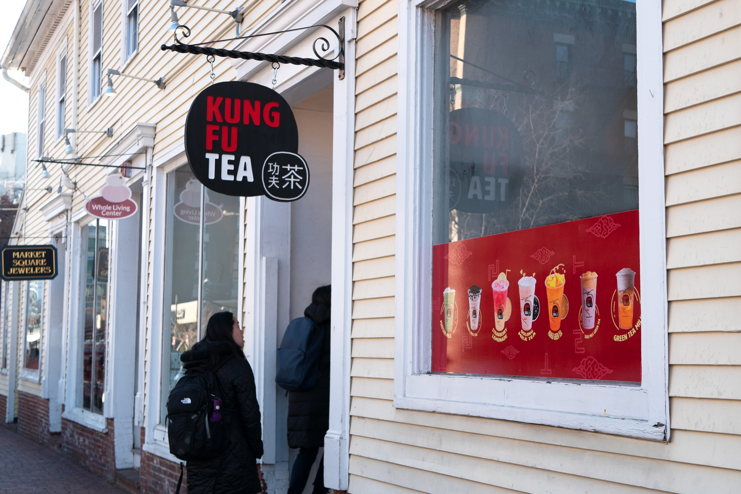 Kung Fu Tea opened this past week with deals up to 50 percent off.