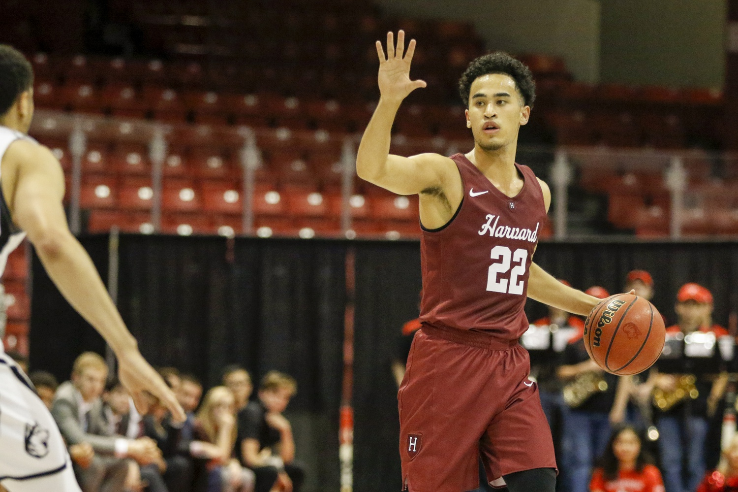 Senior guard Christian Juzang has re-assumed starting point guard duties in the absence of classmate Bryce Aiken, who suffered an ankle injury in late December.