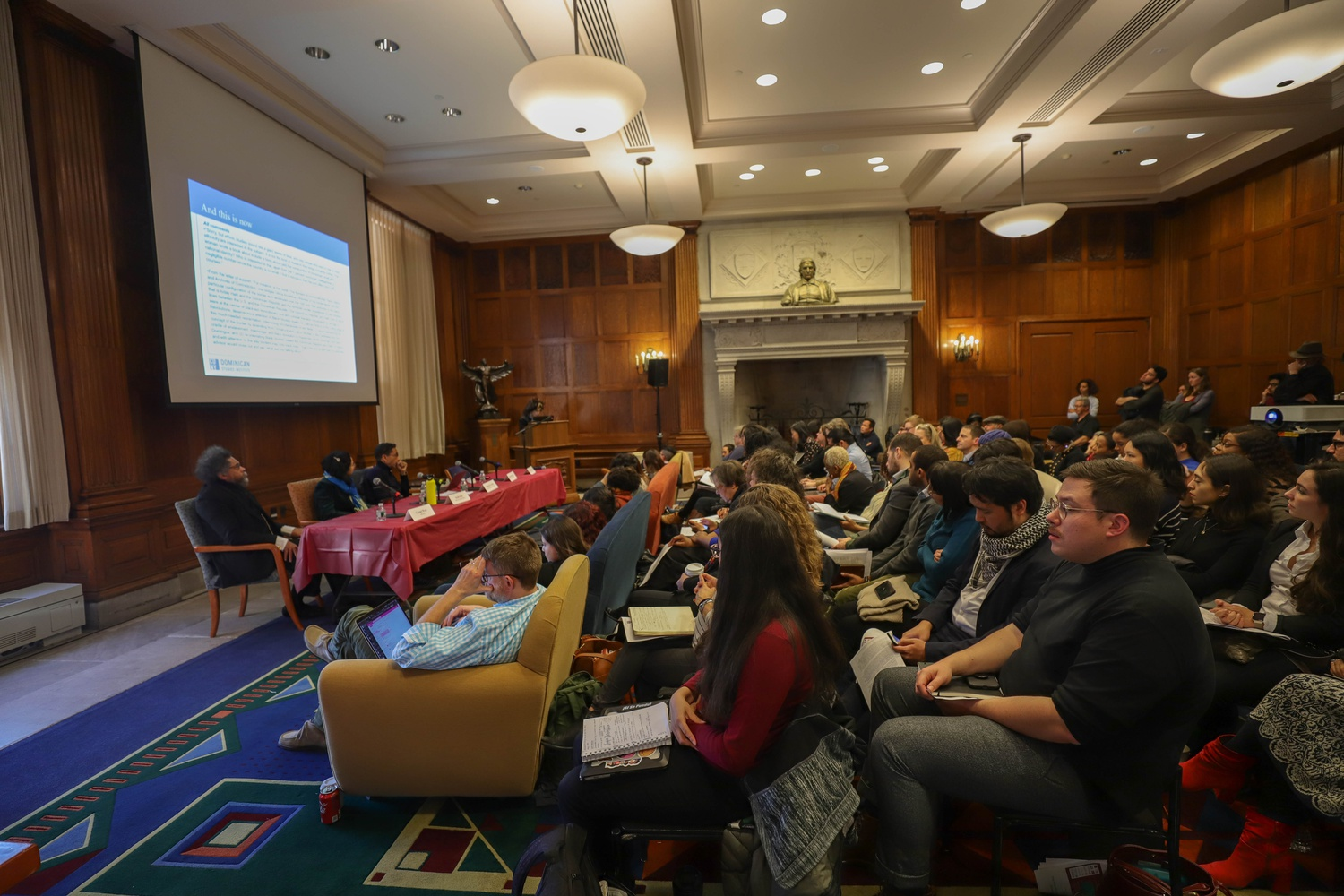Harvard University's Warren Center for Studies in American History hosted a symposium on the work of Lorgia García Peña, discussing Peña's work and scholarly legacy.