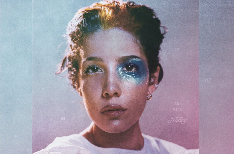 """The album cover for Halsey's latest album """"Manic."""""""