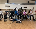 Give a girl a sword - group