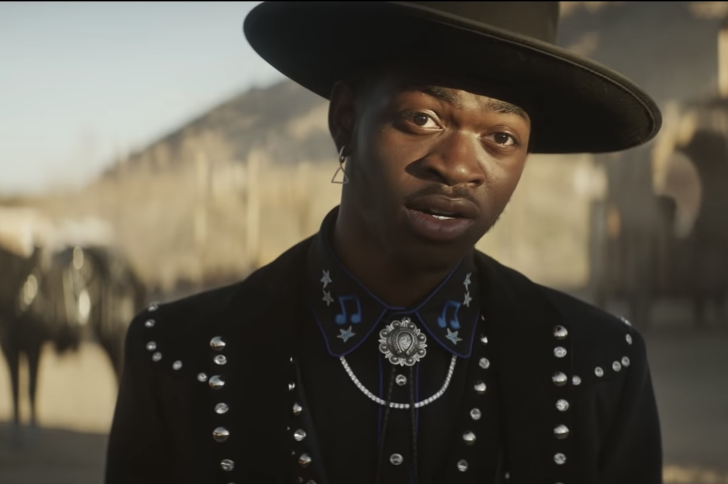 Lil Nas X dances for Doritos.
