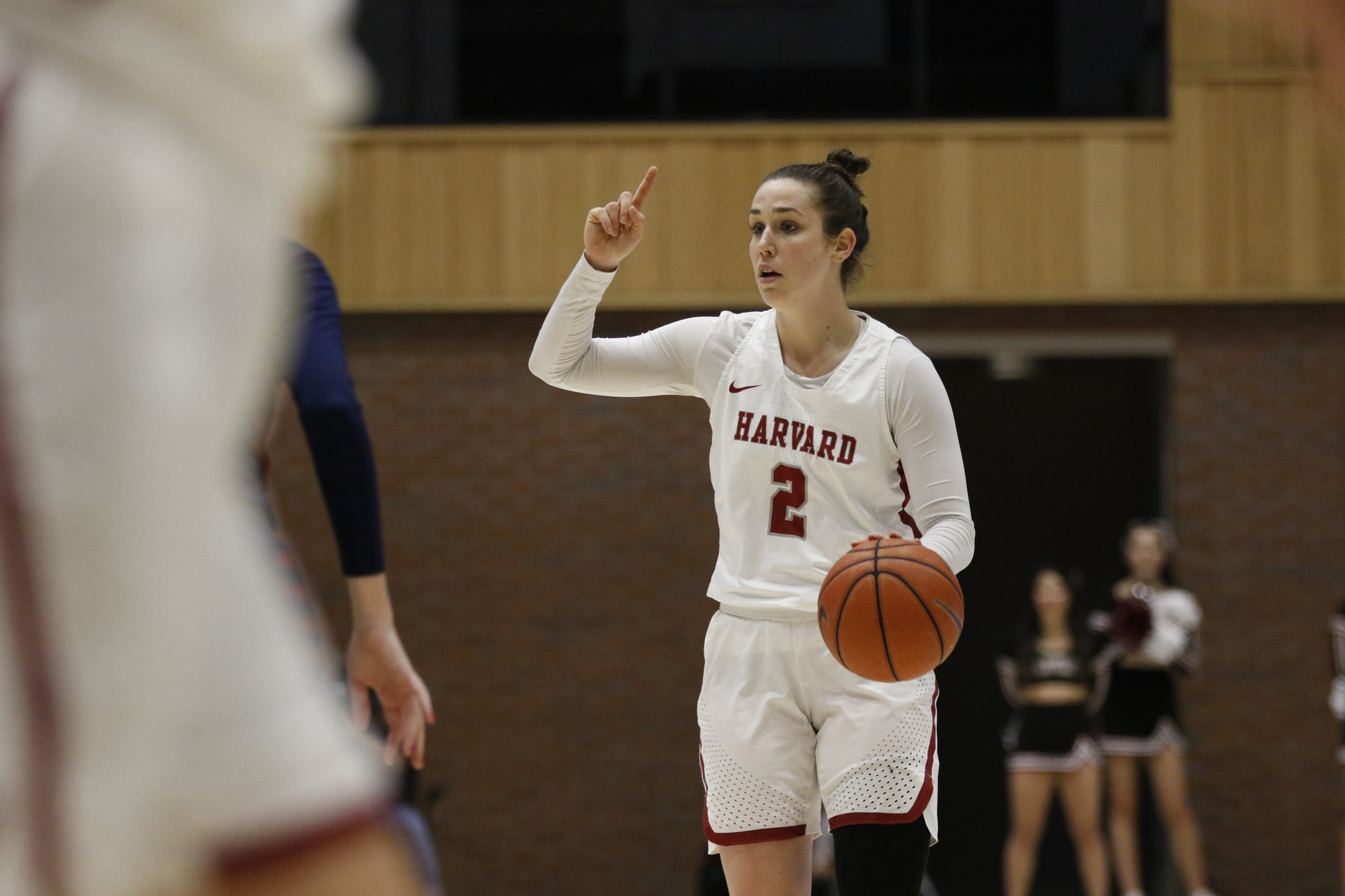 Sophomore guard Tess Sussman earned her first double-double of the season in Saturday's victory over Brown.
