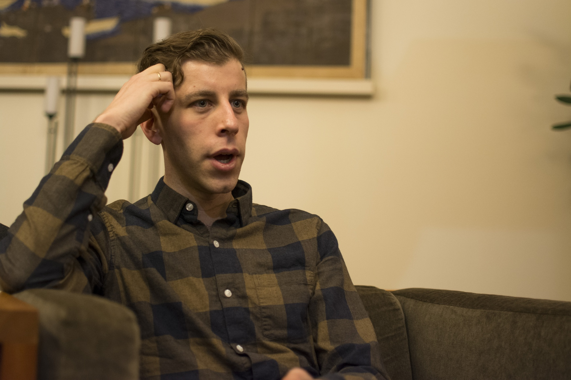 """David Jud is a resident tutor at Mather House. Together with Harvard chaplain Adam L. Dyer, he founded """"The Masc"""", the first organization on campus created to discuss and address questions about masculinity."""