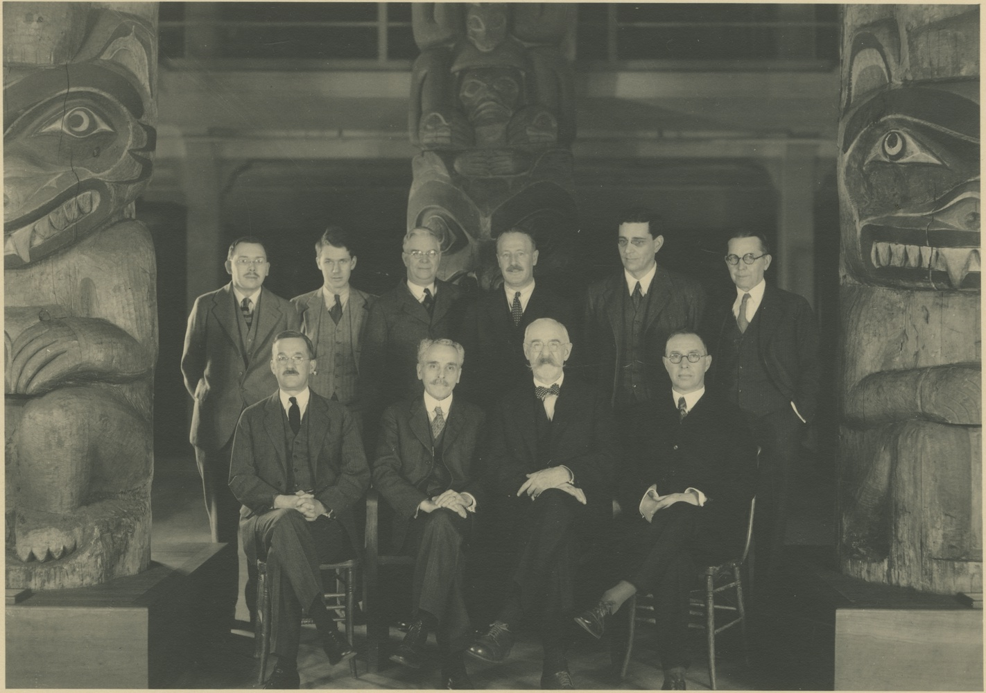Director Reynolds and the Peabody Staff in 1930 during the peak collection era of the Peabody. © Museum Collection. Courtesy of the Peabody Museum of Archaeology and Ethnology, Harvard University, PM2004.1.324.38
