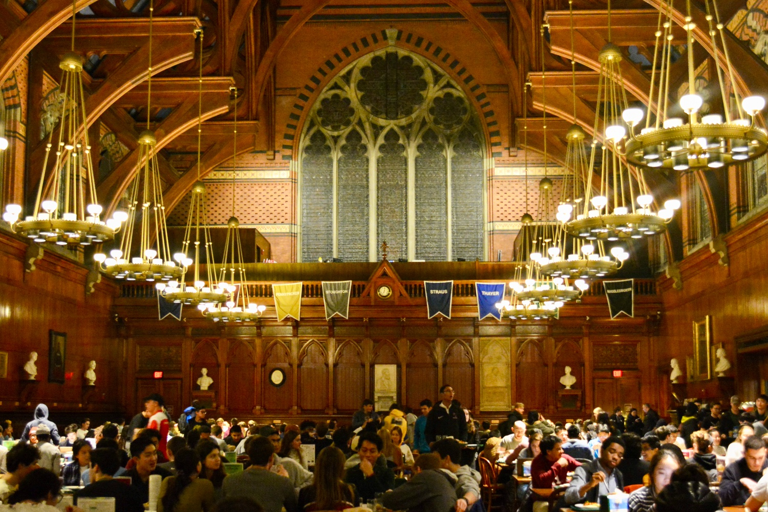 Annenberg Hall is the designated dining facility for first-year students.