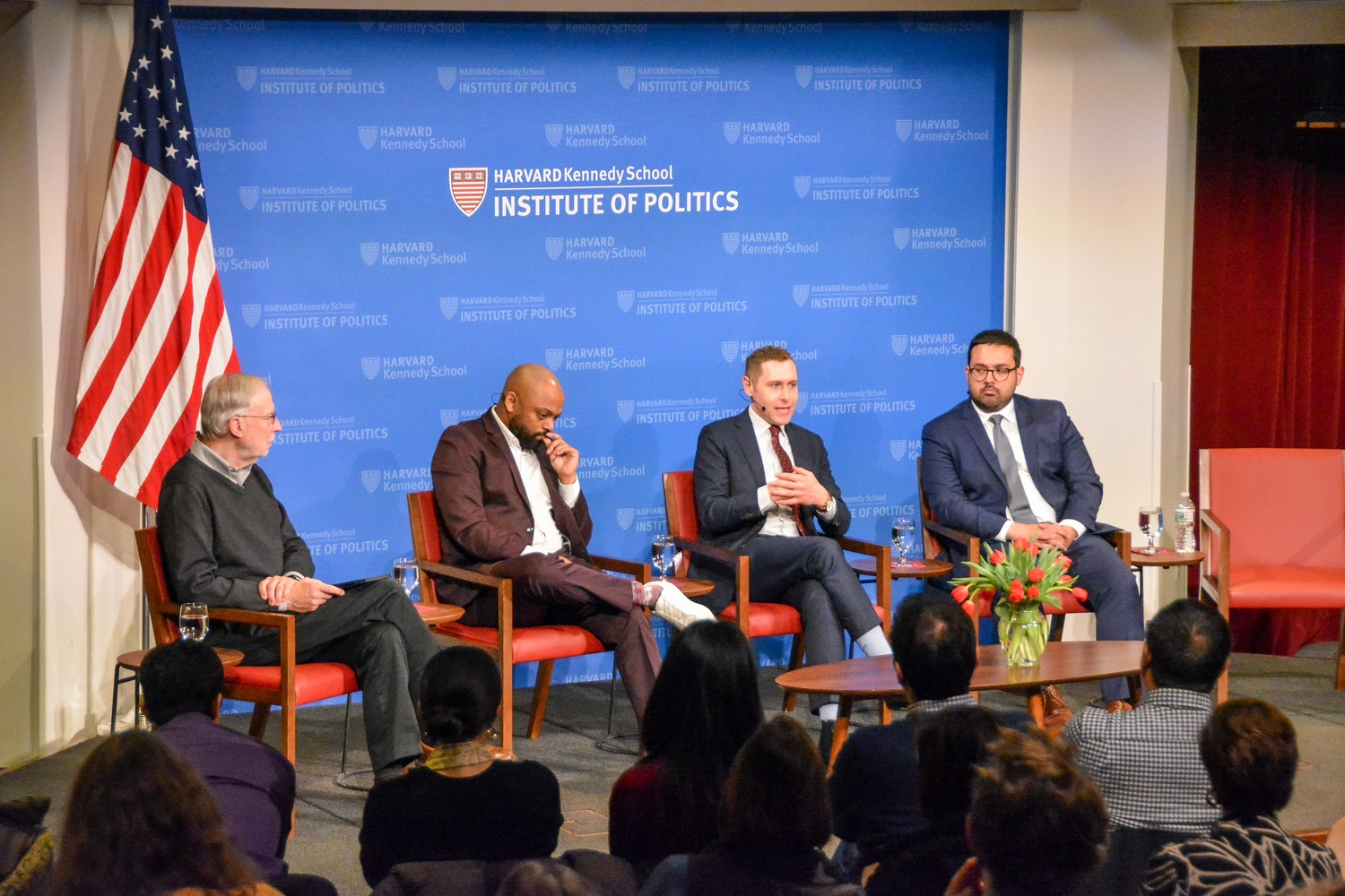 During the second forum of the Institute of Politics' 2020 Election series, four political correspondents reflected on the state of the presidential race and the recent contests in Iowa and New Hampshire.