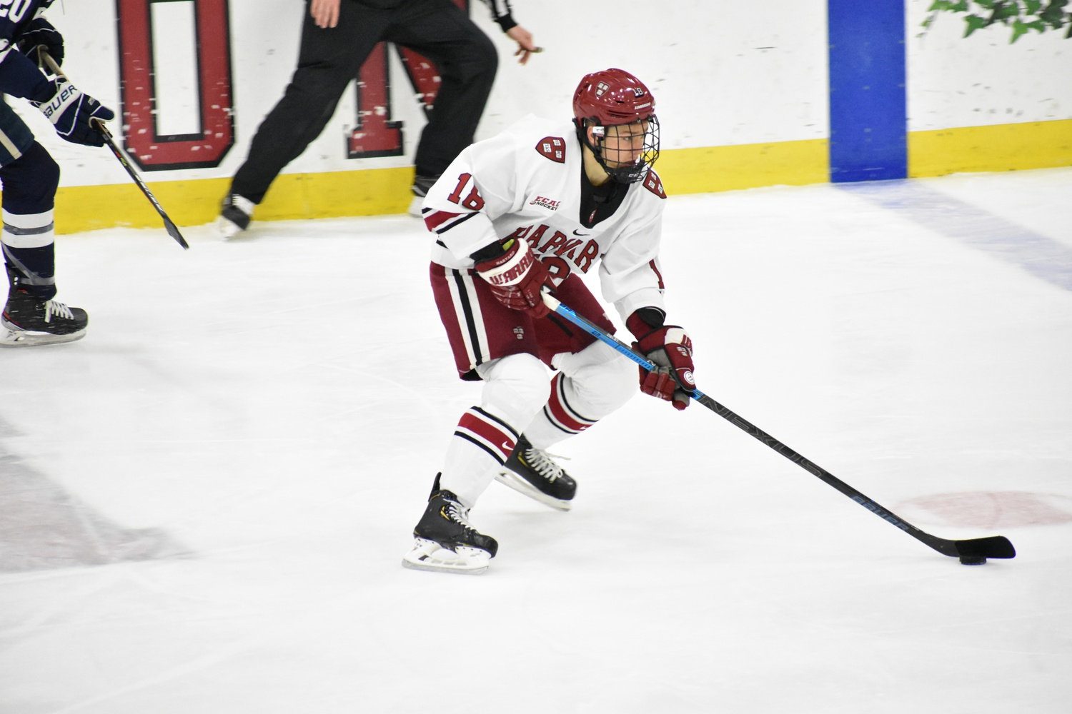 Abruzzese's two goals and two assists mark the first four-point effort of the rookie's collegiate career.