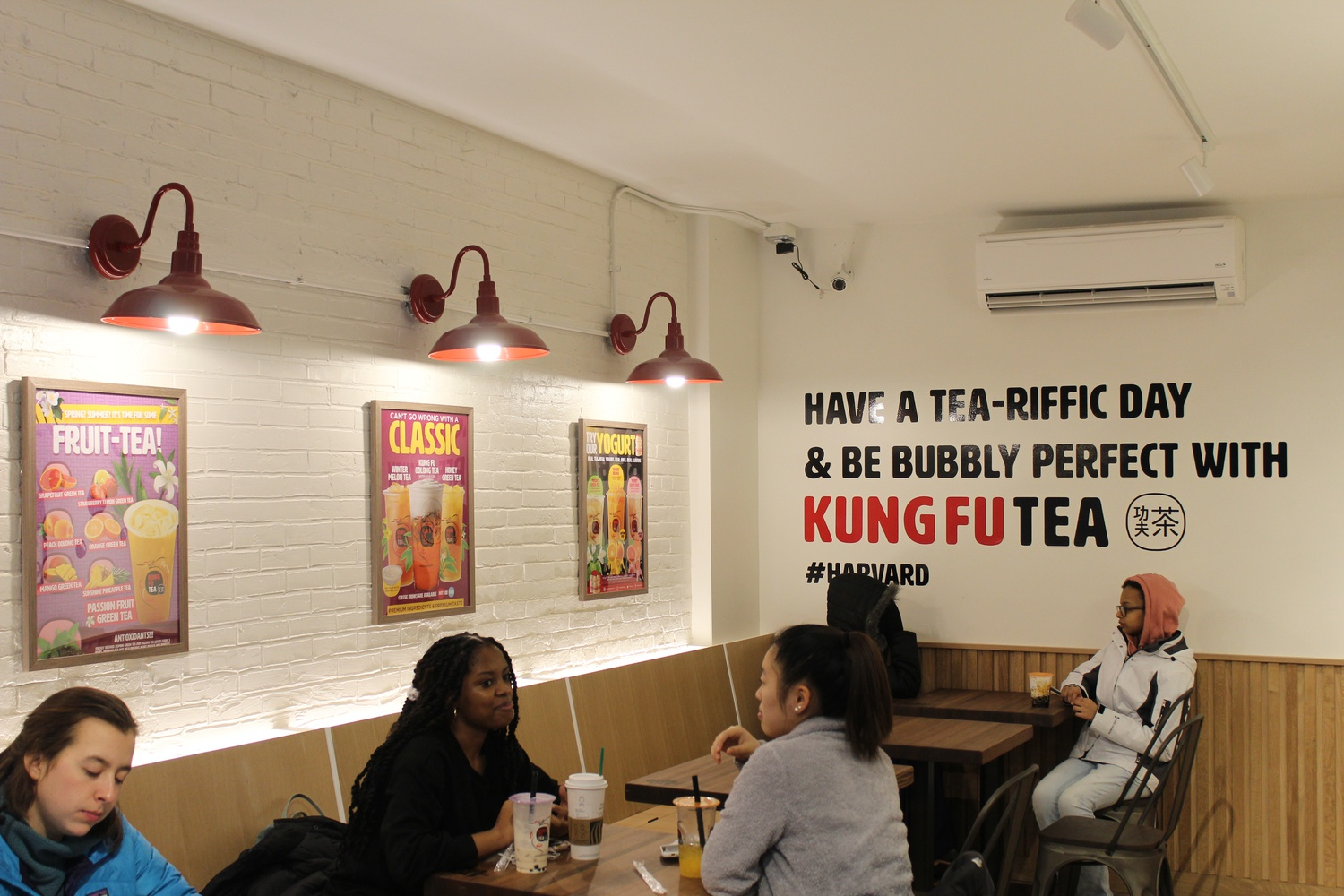 Kung Fu Tea brought a new take on boba to Harvard Square this January.