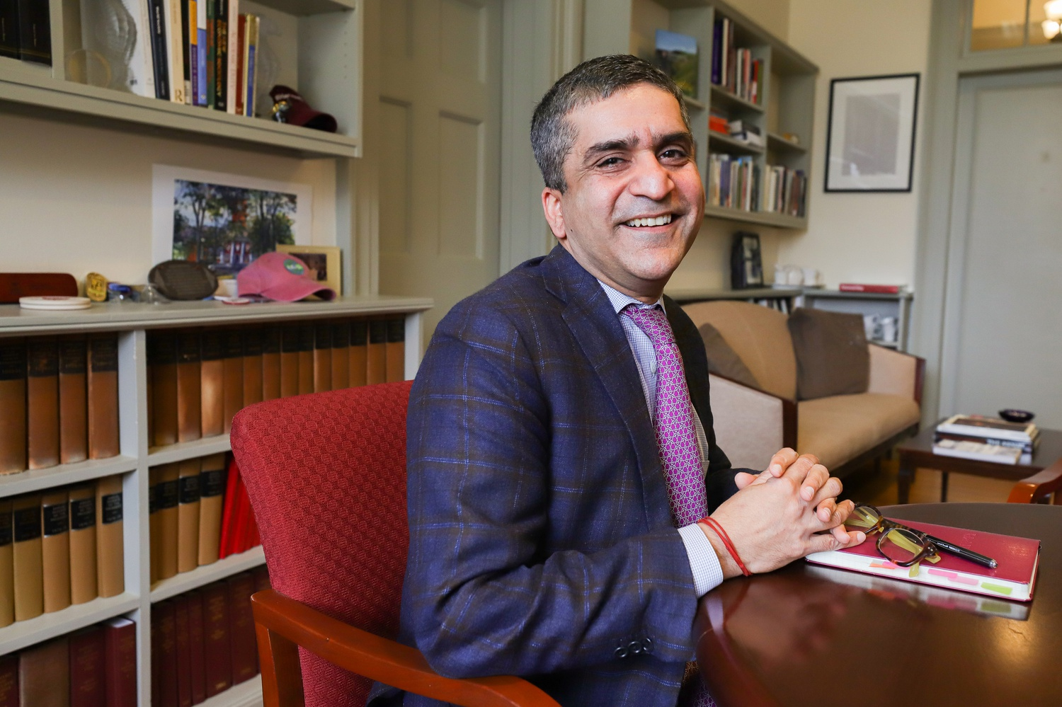 Dean of Harvard College Rakesh Khurana said in a Tuesday interview that he sees the transition to online learning as an opportunity for students and faculty to innovate in pedagogy and practice adaptability.