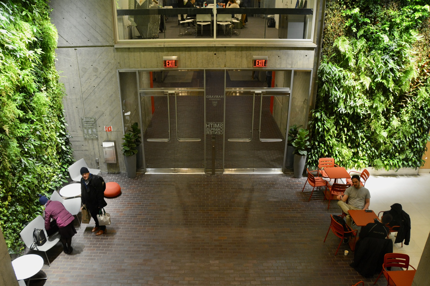 Police arrested a man in the Smith Campus Center by Bon Me shortly before noon on Thursday.