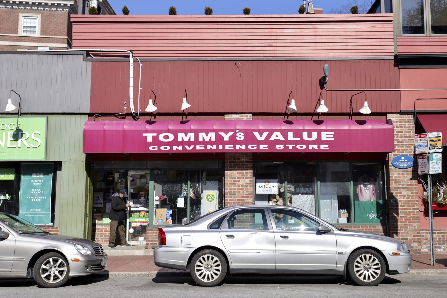 Tommy's Value is a convenience store located at 47 Mt. Auburn Street.