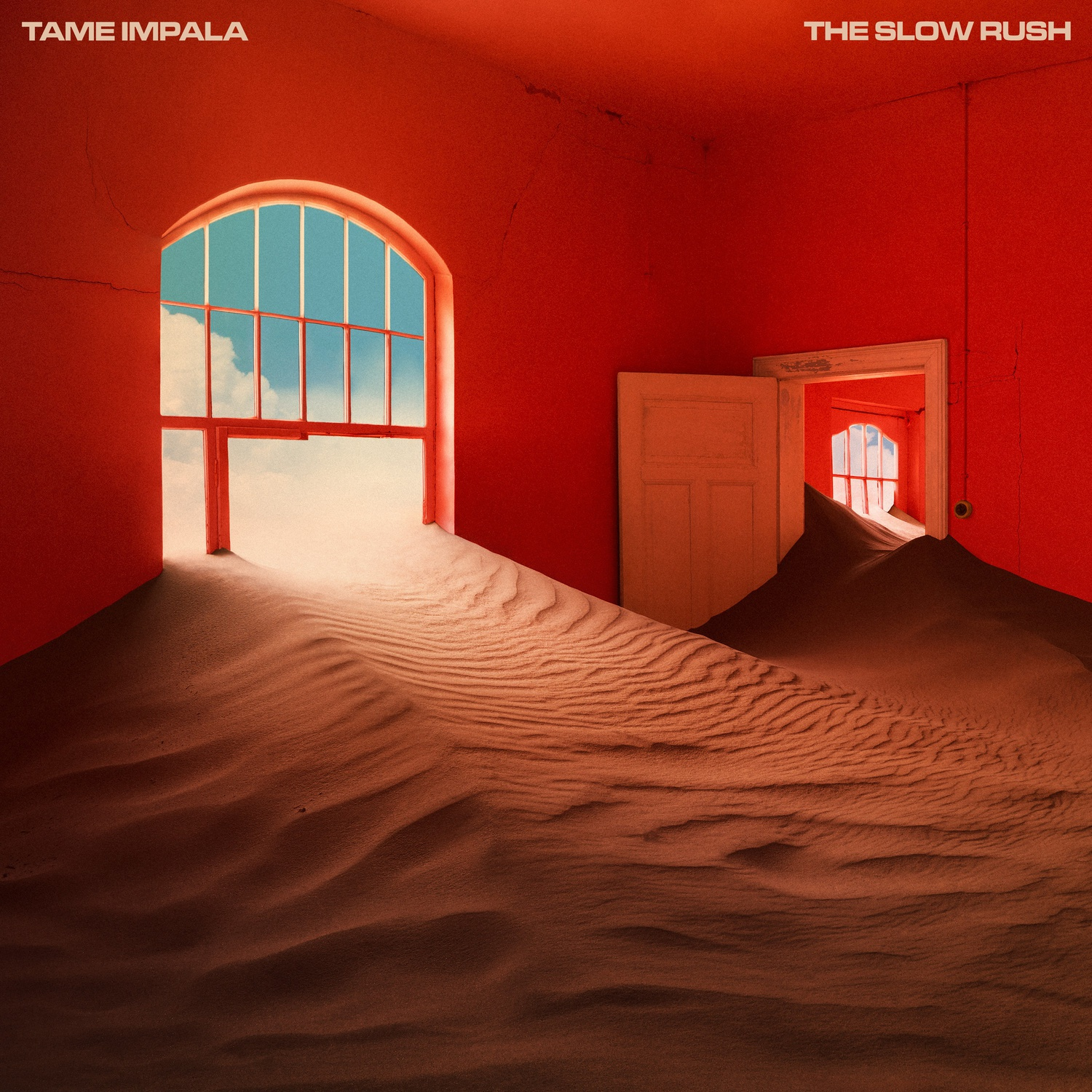 """The Album Cover for Tame Impala's """"The Slow Rush."""""""