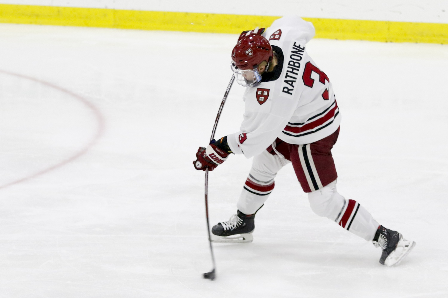 Harvard's power play went 3-for-5 tonight, jumpstarting the shift in momentum that carried the team to victory.
