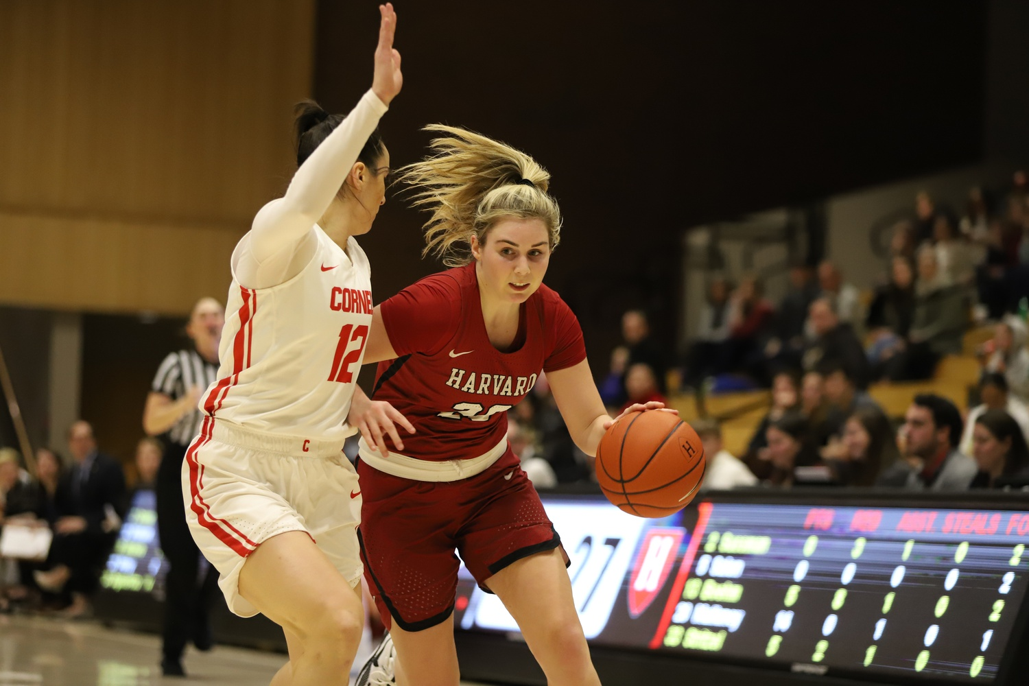 The Crimson fought until the last minute, but could not make up its deficit from a difficult first half.