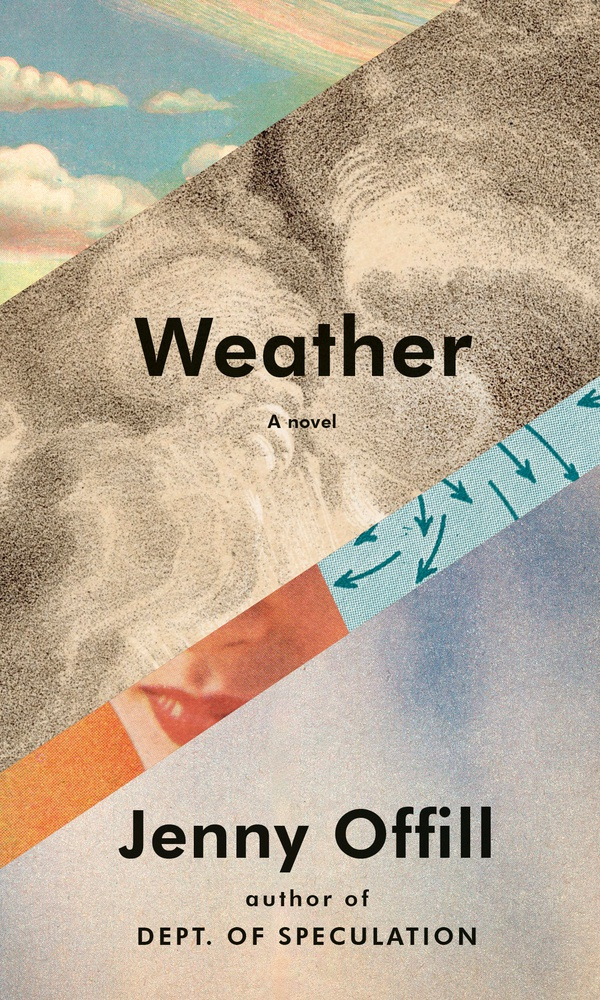 """Cover art for """"Weather,"""" by Jenny Offill."""