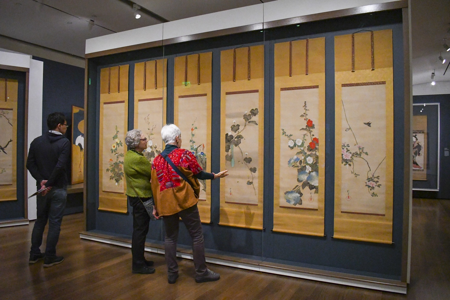 """""""Painting Edo"""" is the largest exhibition ever presented at the Harvard Art Museums."""
