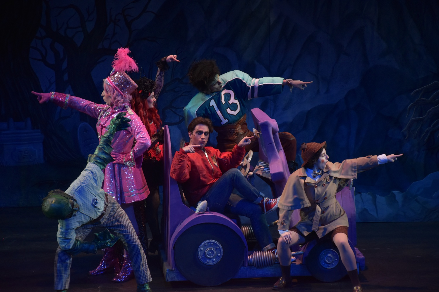 """The Hasty Pudding Theatricals' 172nd show, """"Mean Ghouls,"""" runs through March 8."""