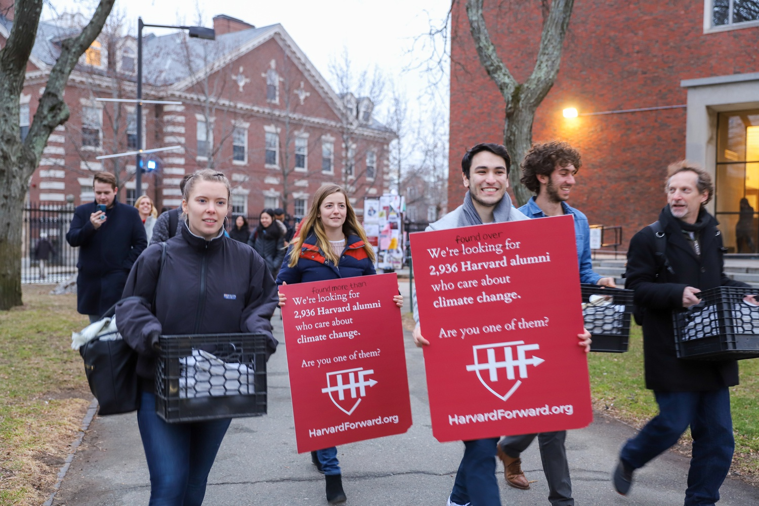 Harvard Forward held an online town hall to advocate for their Board of Overseers candidates.