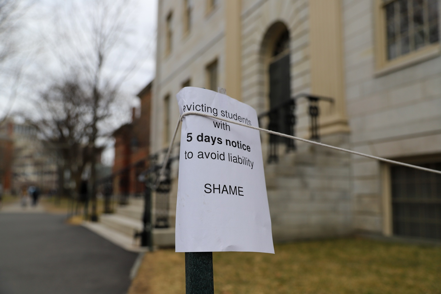 On Tuesday morning, Harvard University announced it would transition to virtual instruction for graduate and undergraduate classes after spring break. Harvard College students must vacate their houses and dorms by March 15.