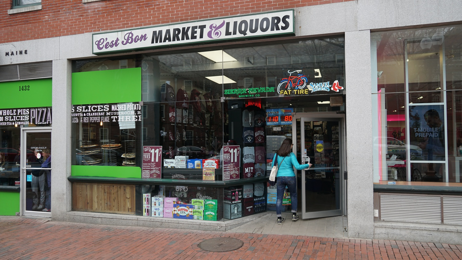 Many business in Harvard Square expect that they will be affected students leaving campus halfway through the semester.