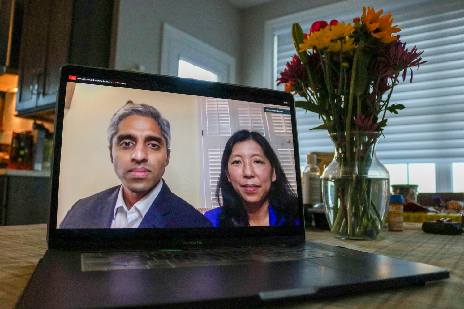 U.S. Surgeon General Dr. Vivek Murthy and Dr. Alice Chen spoke to students about the current information on COVID-19 and the importance of prioritizing mental health during the crisis in a conference call hosted by South Asian Americans in Public Service (SAAPS) Tuesday evening.