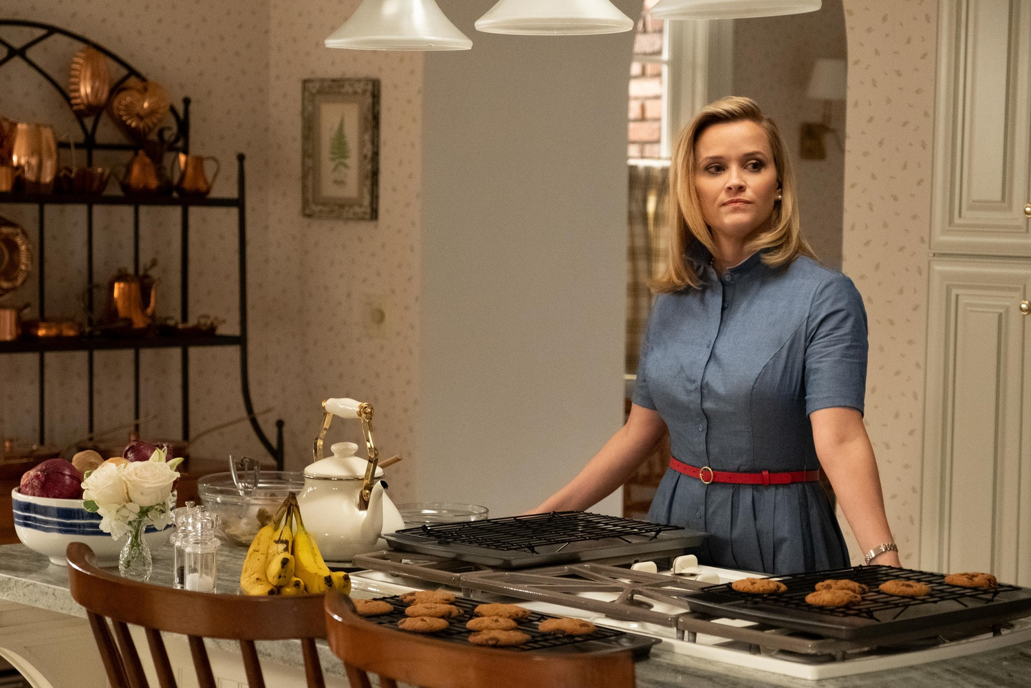 """Elena Richardson (Reese Witherspoon) in the premiere of """"Little Fires Everywhere."""""""
