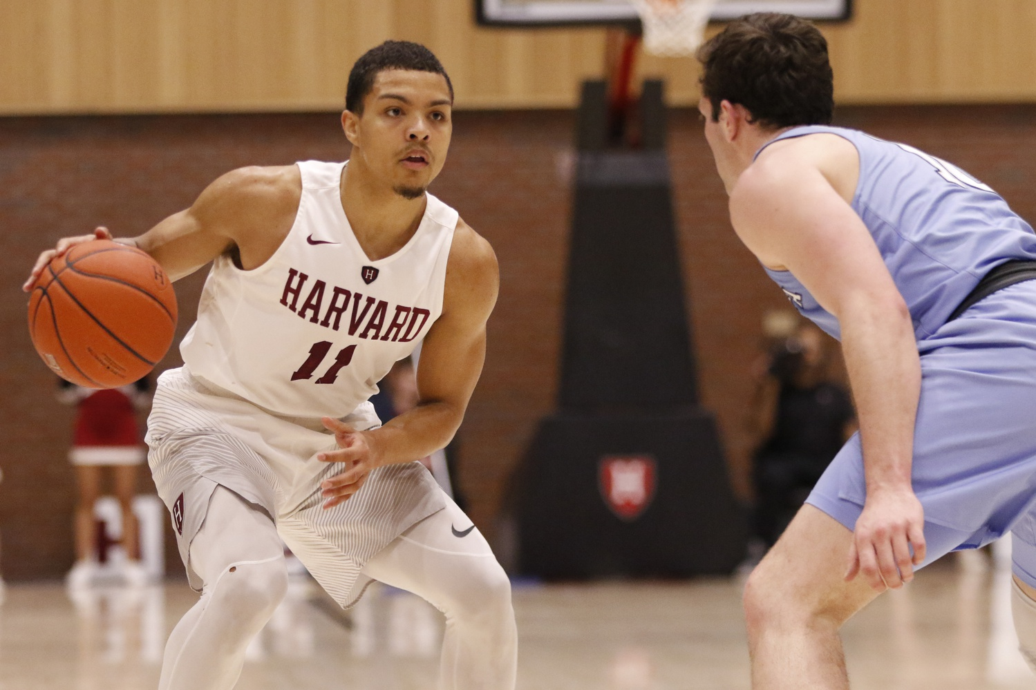 Bryce Aiken and classmate Seth Towns were considered amongst the top-ranked graduate transfers nationally.