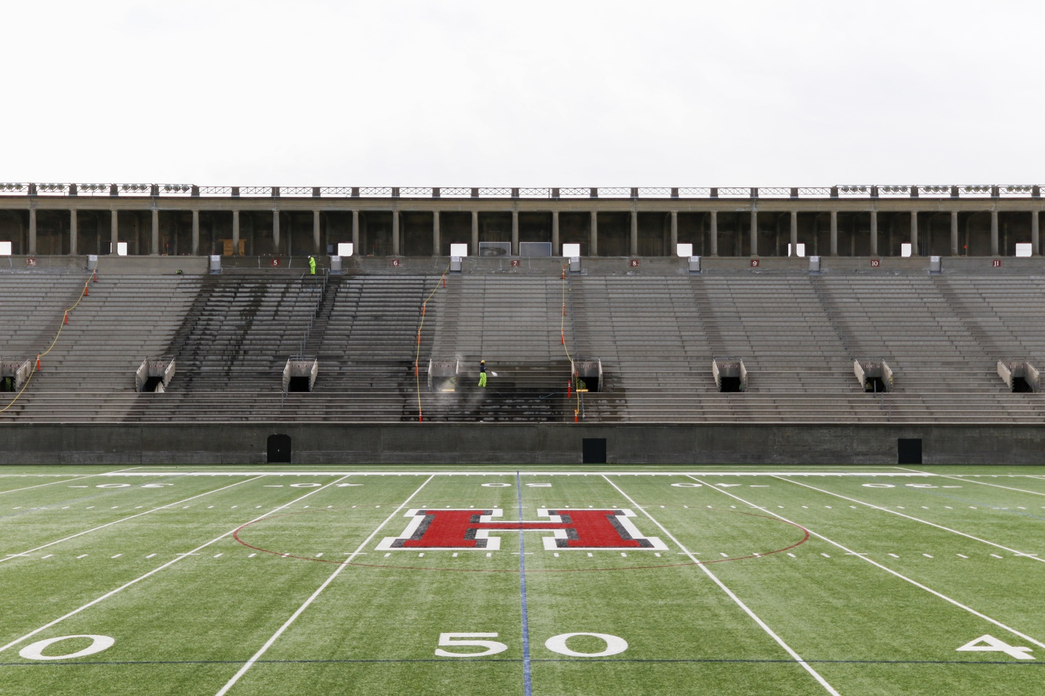 Varsity athletes whose spring seasons were canceled due to the coronavirus will not be able to use their extra year of National Collegiate Athletics Association eligibility at Harvard by taking a semester off.