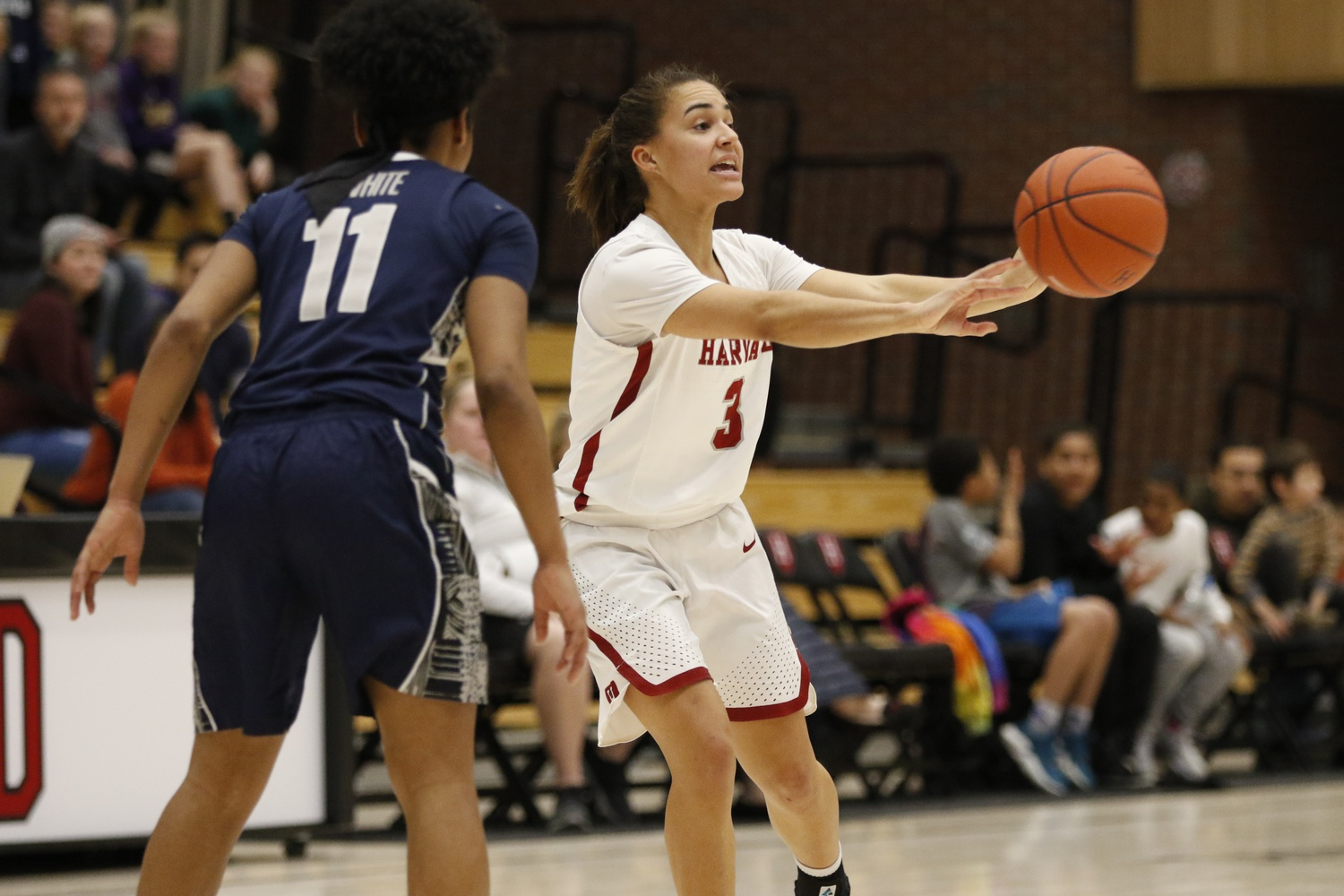 Benzan's 13-point performance against Georgetown in the 2019 Women's National Invitational Tournament would prove to be her last appearance in a Harvard uniform.