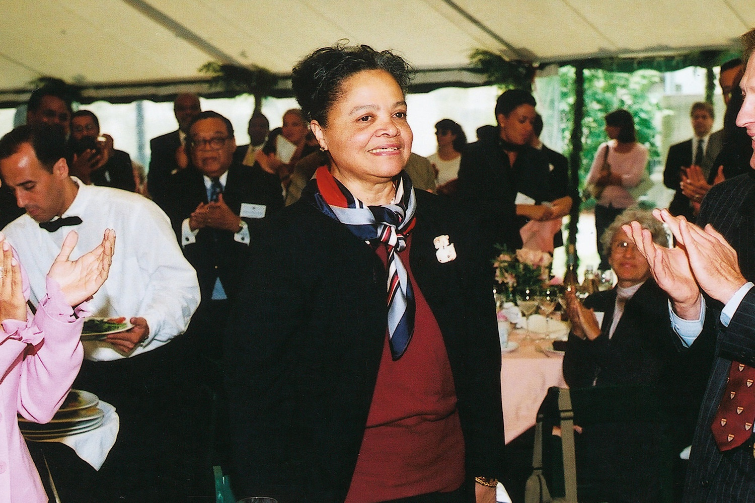 Harvard Law School graduate Lila A. Fenwick at an event in the early 2000s.
