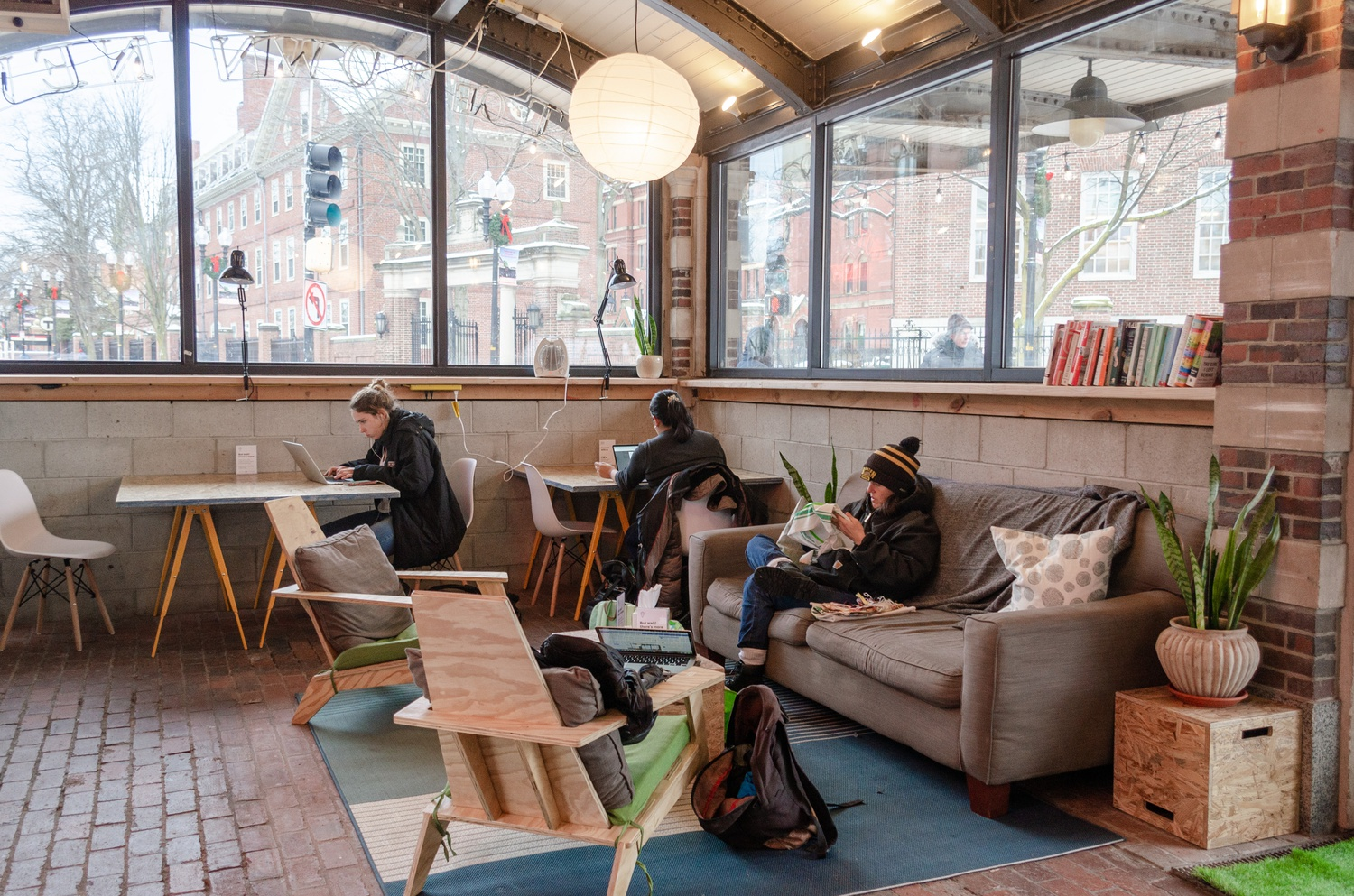 Between 100 and 200 guests enter CultureHouse's Harvard Square location each day.