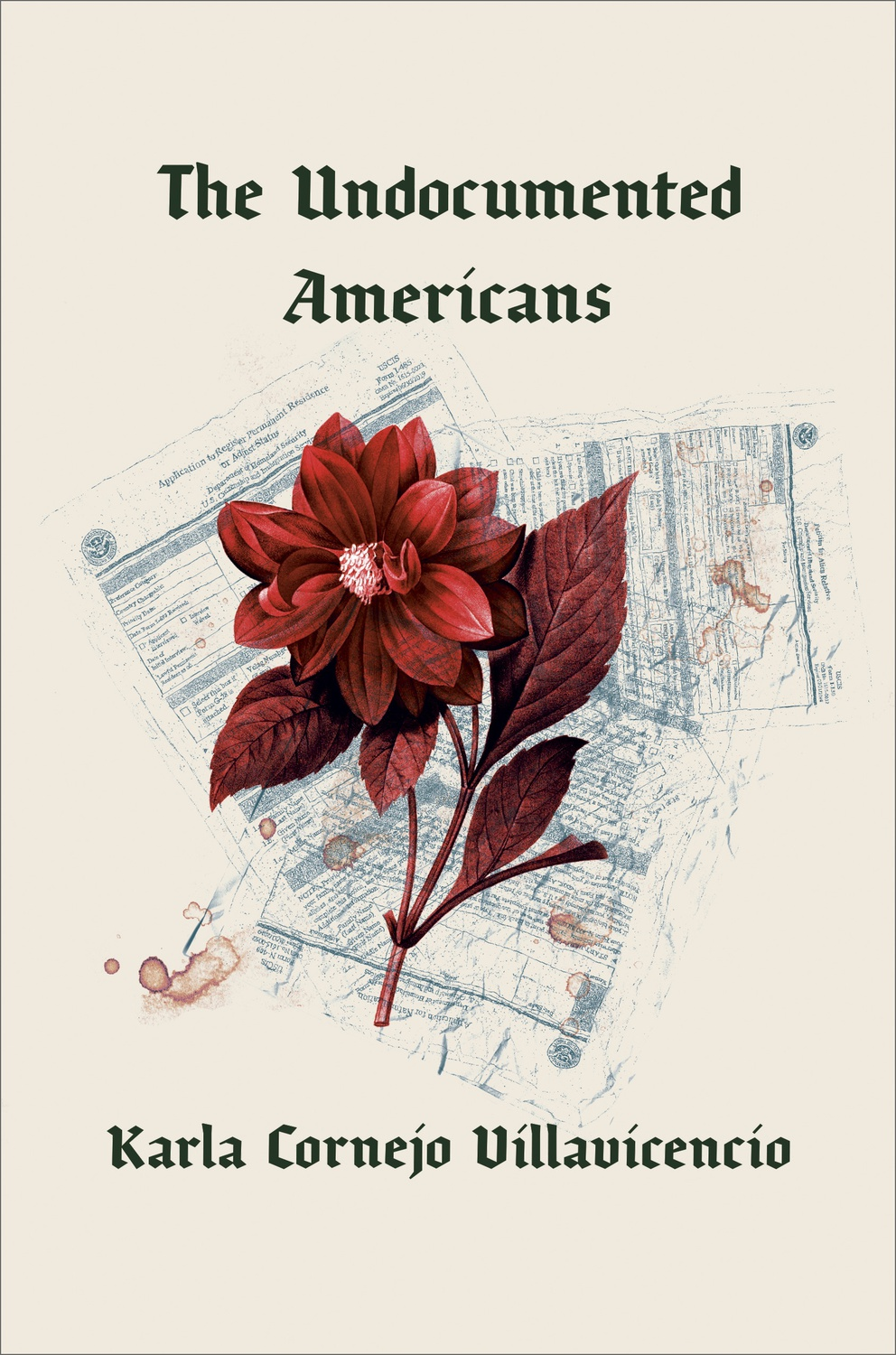 "Cover art for ""The Undocumented Americans"""