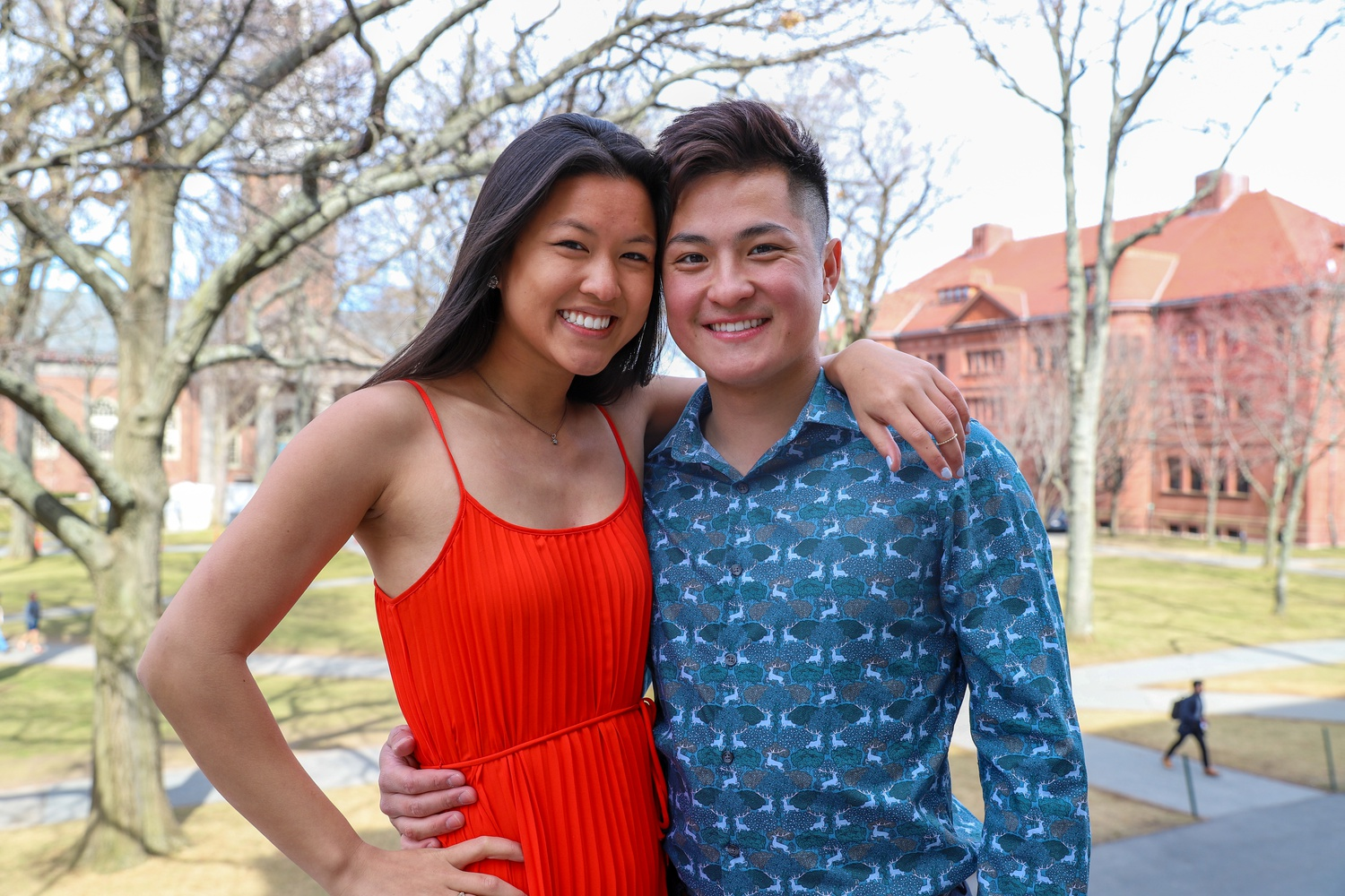 Eric J. Cheng '20 and Angelina Ye '20 are the First and Second Class Marshals, respectively.