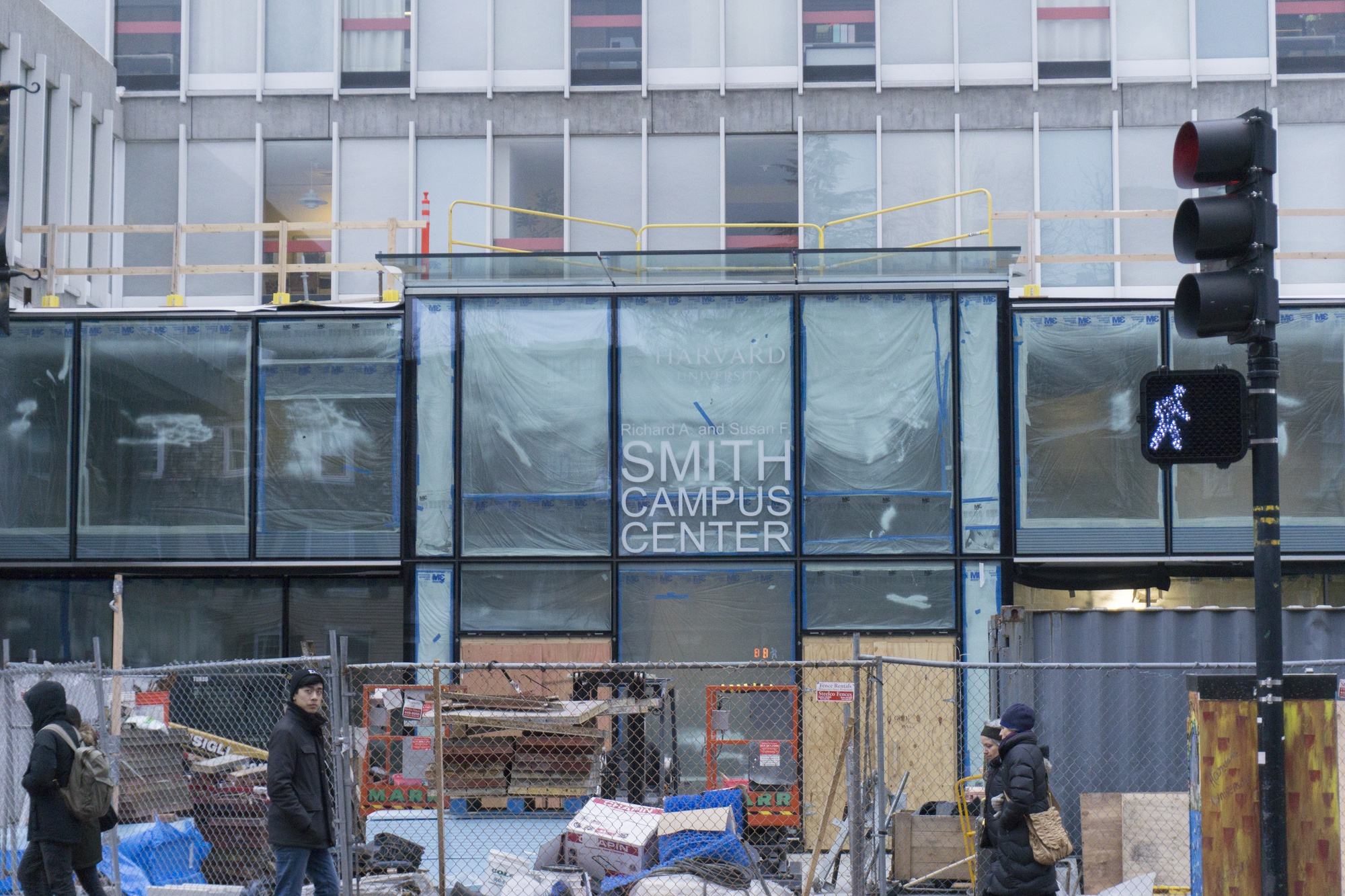 Harvard began renovations of the Smith Campus Center in April 2016 after receiving a donation from Richard A. Smith and Susan F. Smith.