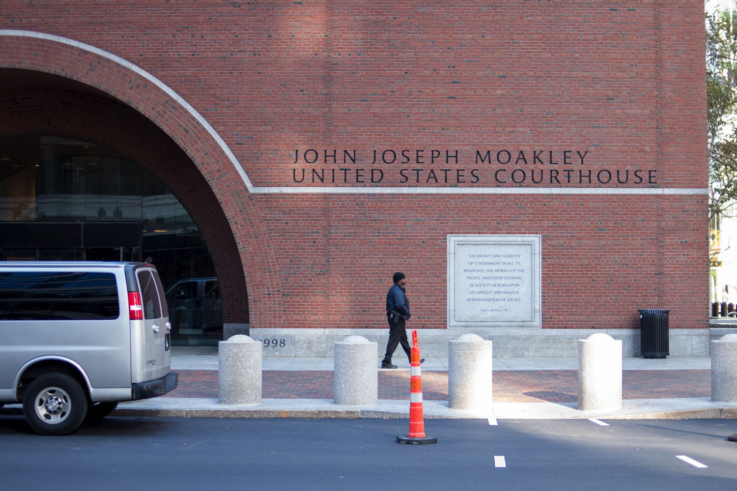 Harvard's ongoing admissions lawsuit was tried at the John Joseph Moakley Courthouse in Boston last fall.