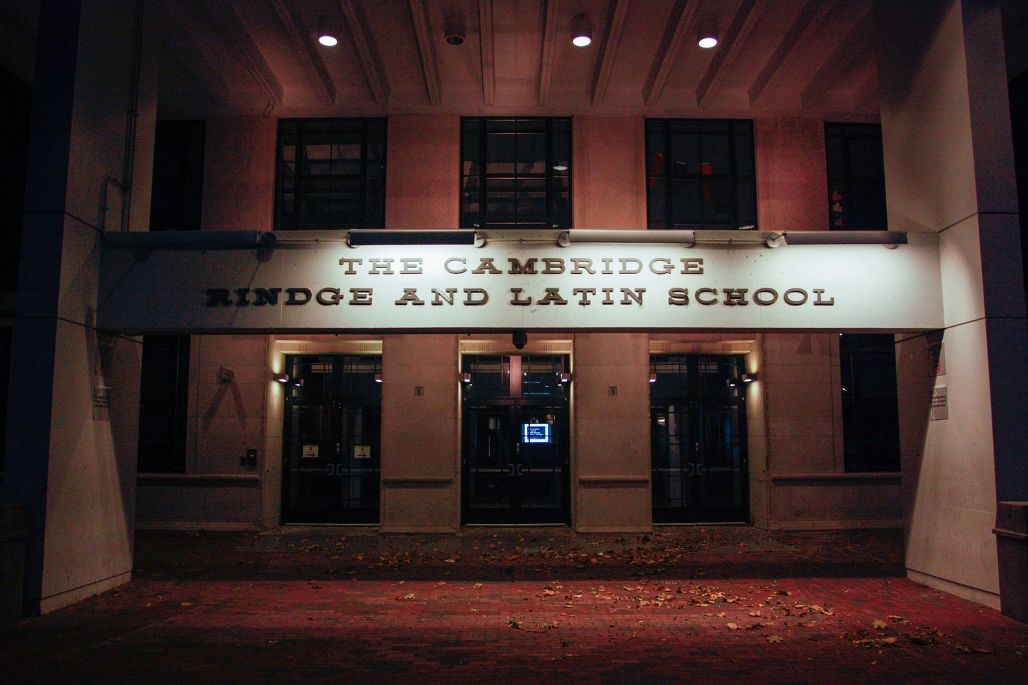 The Cambridge Rindge and Latin School is the only traditional public high school in the Cambridge Public School district.