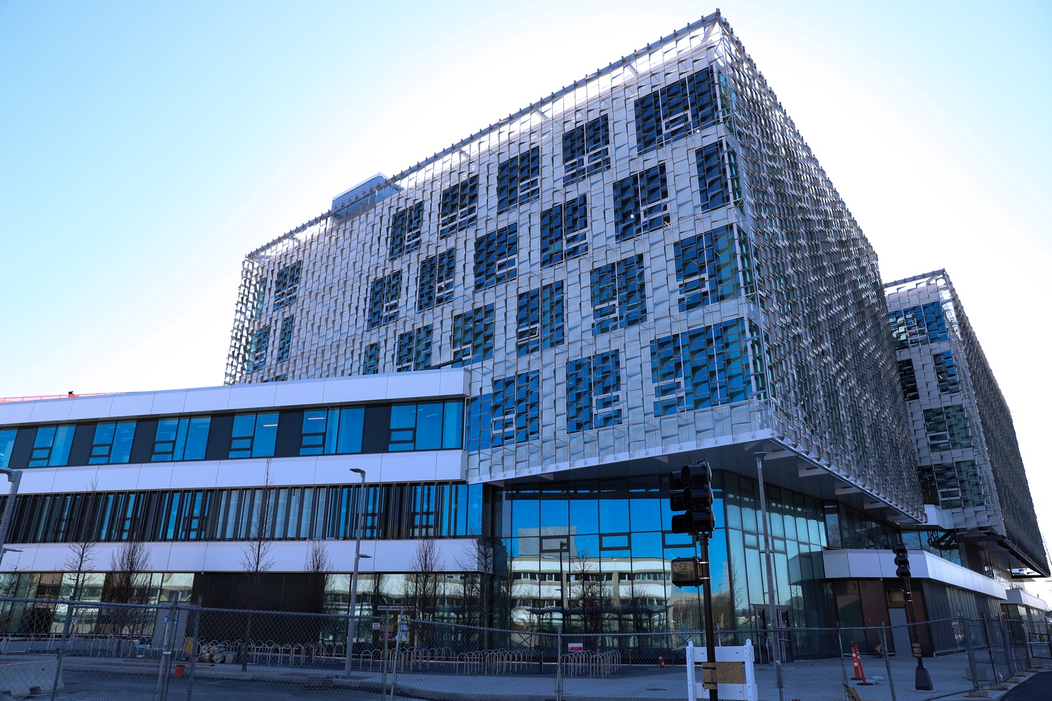 Faculty and staff at the School of Engineering and Applied Sciences have begun moving into their offices at the new Science and Engineering Complex, located in Allston.