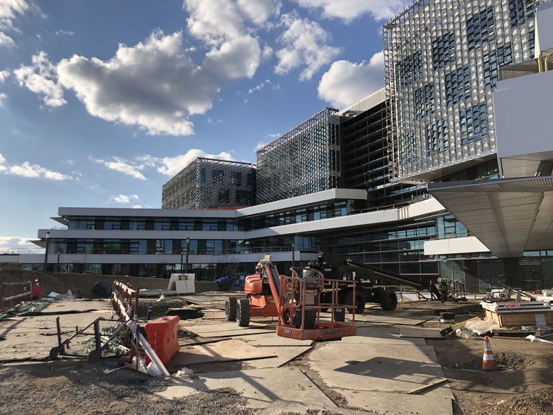 Allston SEC Construction