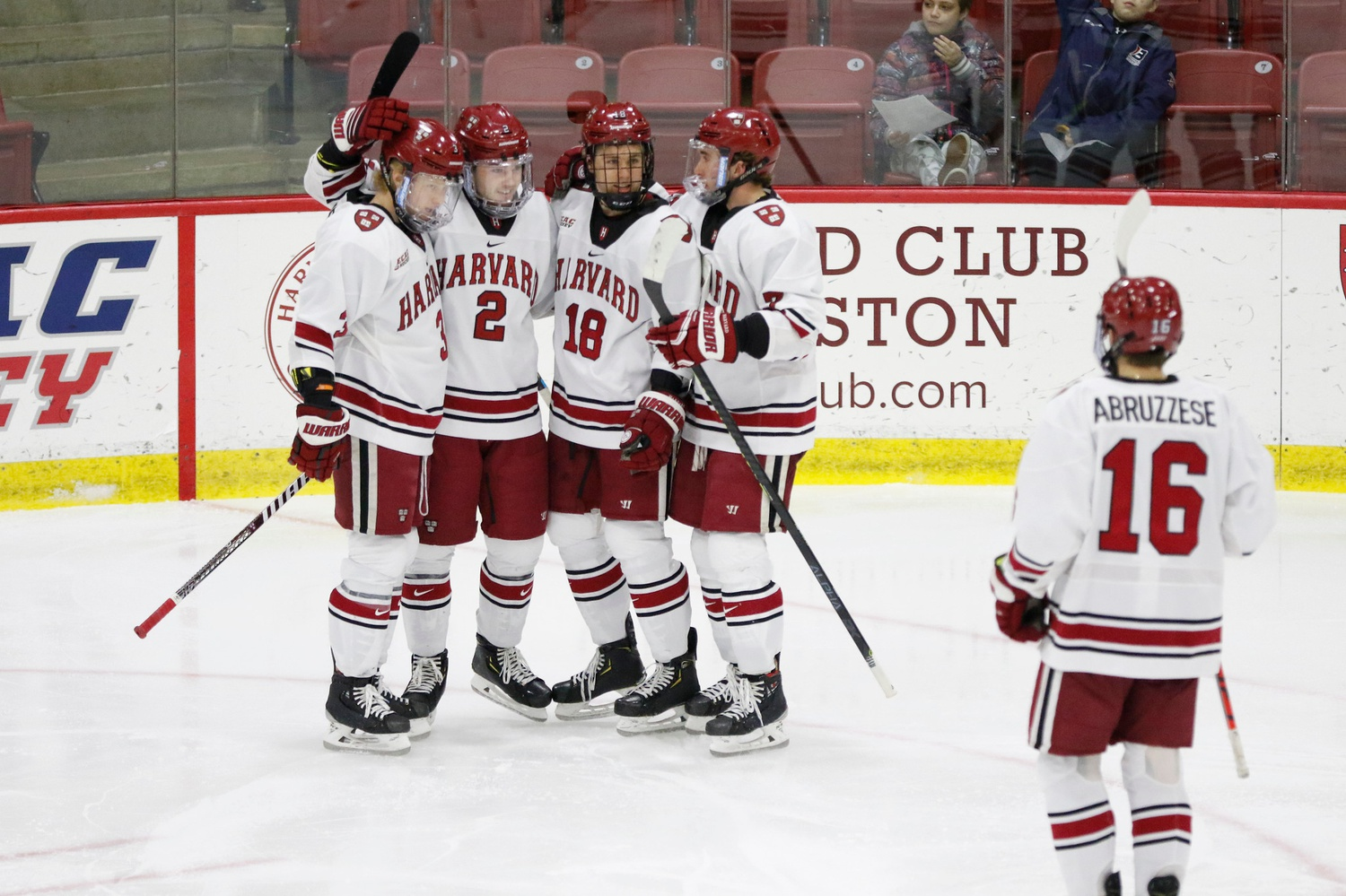 Despite losing arguably the most potent powerplay weapon in program history in now-NHL defenseman Adam Fox, the Crimson ranked first in the NCAA in man-up effectiveness.