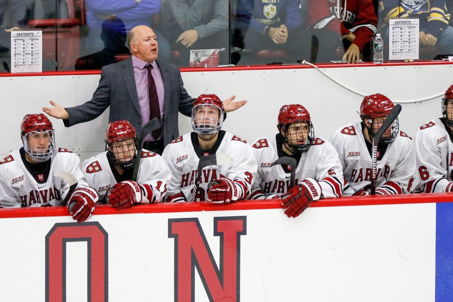 Harvard played its share of high-profile games in 2019-2020. Unfortunately for coach Donato and crew, the Crimson did not emerge victorious from many of these matchups.