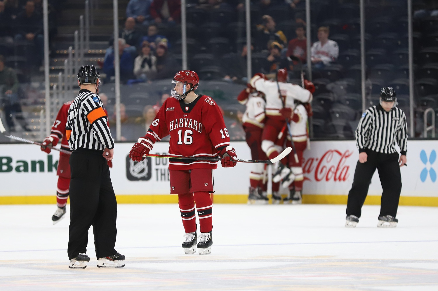 For the first time since 2016, the Crimson placed fourth in the Beanpot Tournament, an annual highlight of the schedule.