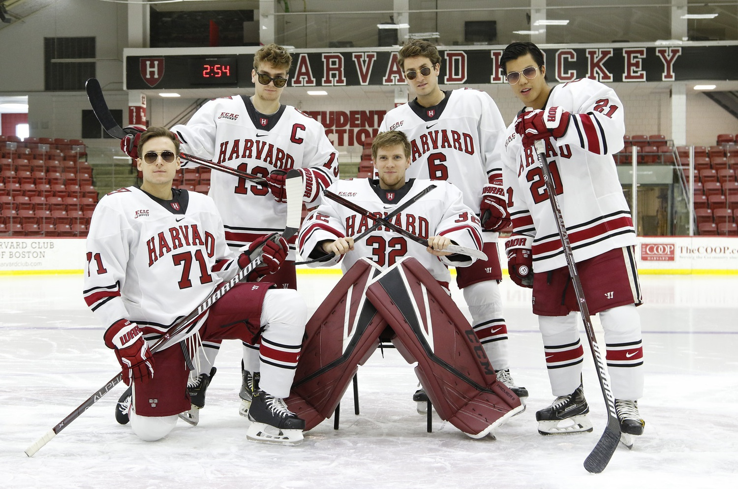 Due to the coronavirus pandemic, Harvard's five seniors may not have received the closure they expected. Nevertheless, the class leaves behind an impressive four-year contribution to the program's on-ice winning and off-ice culture.