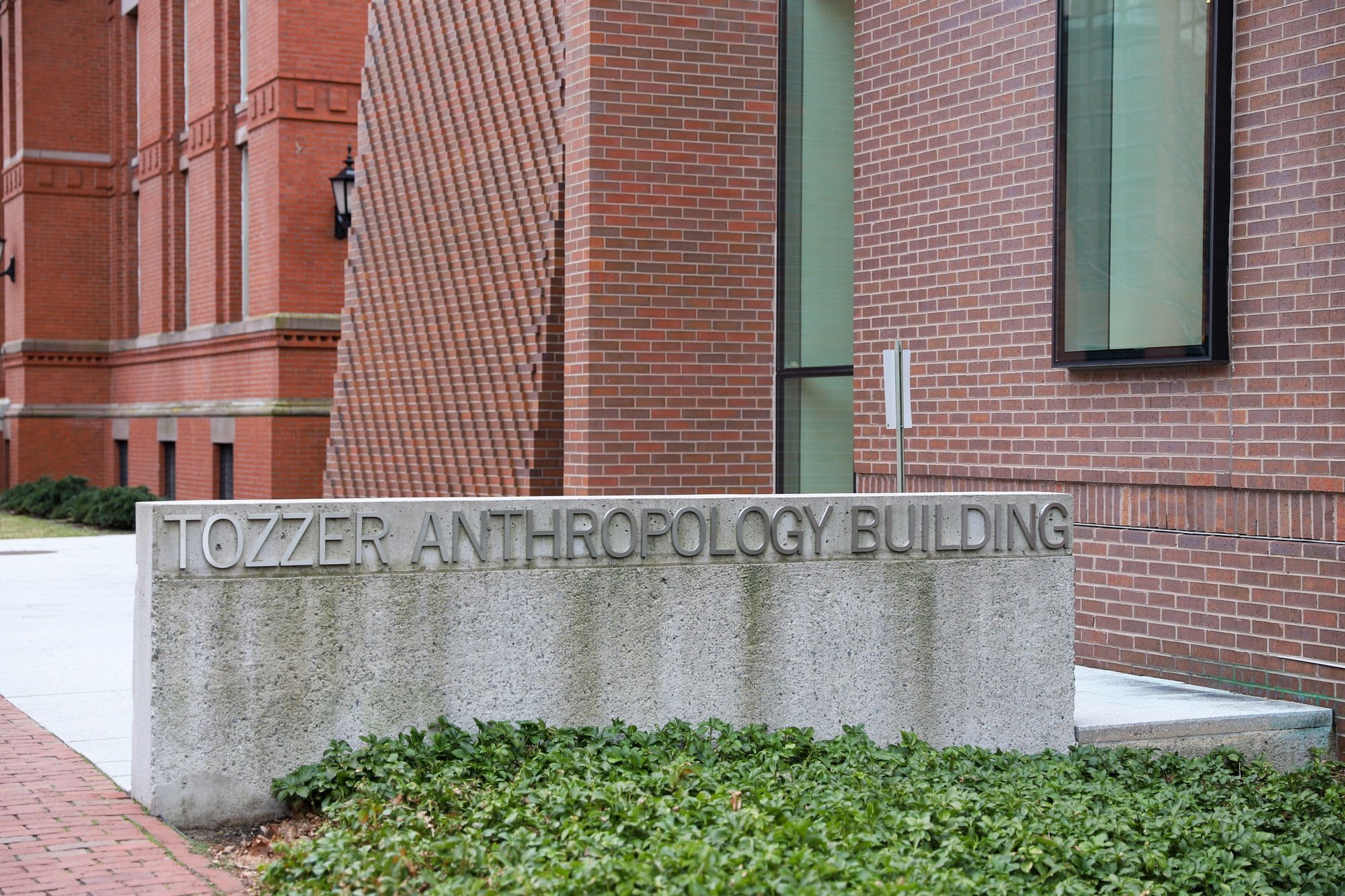The Tozzer Anthropology Building and Peabody Museum house offices for Harvard's Anthropology department.