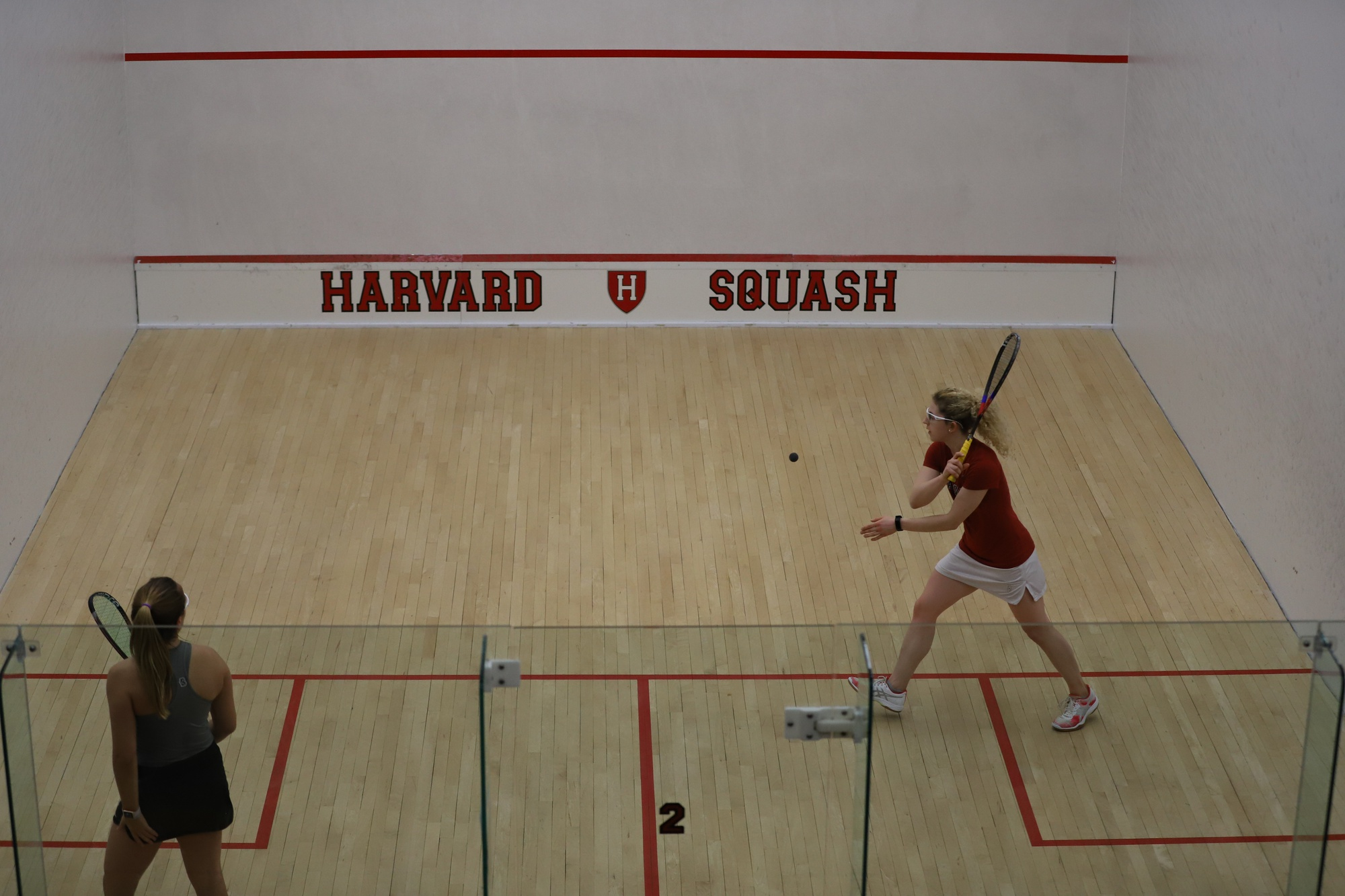 Senior Gina Kennedy wrapped up her Harvard career with her third straight undefeated campaign, making her total record at Harvard an astounding 54-2.