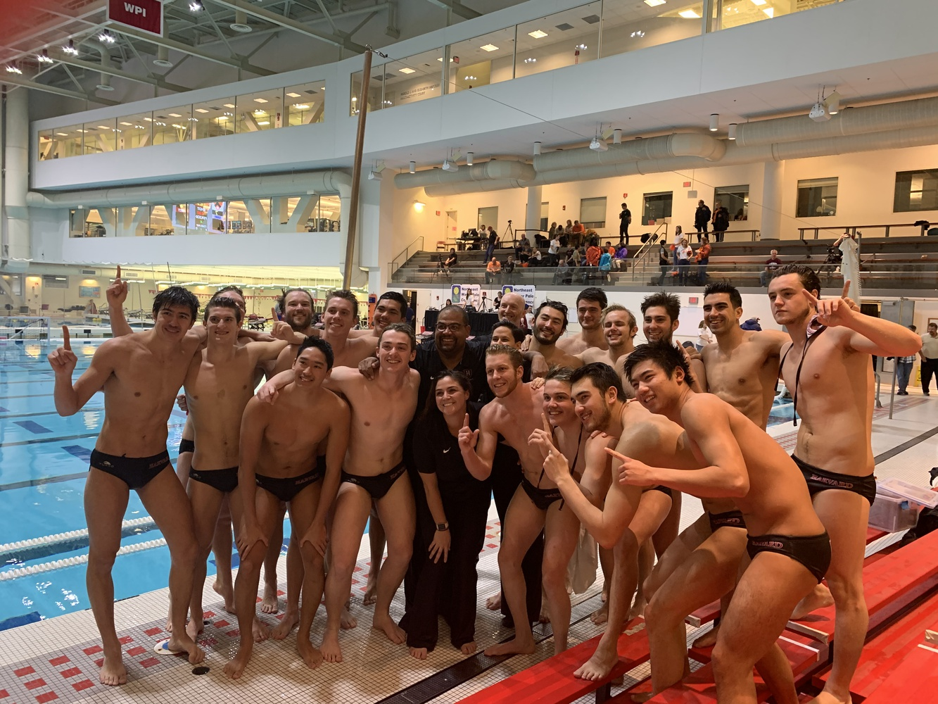 Harvard managed to hold on to its one-goal lead over Princeton in the closing stages of the NWPC Championship. With the 8-7 victory, the team earned the chance for a photo op and an NCAA Tournament berth.