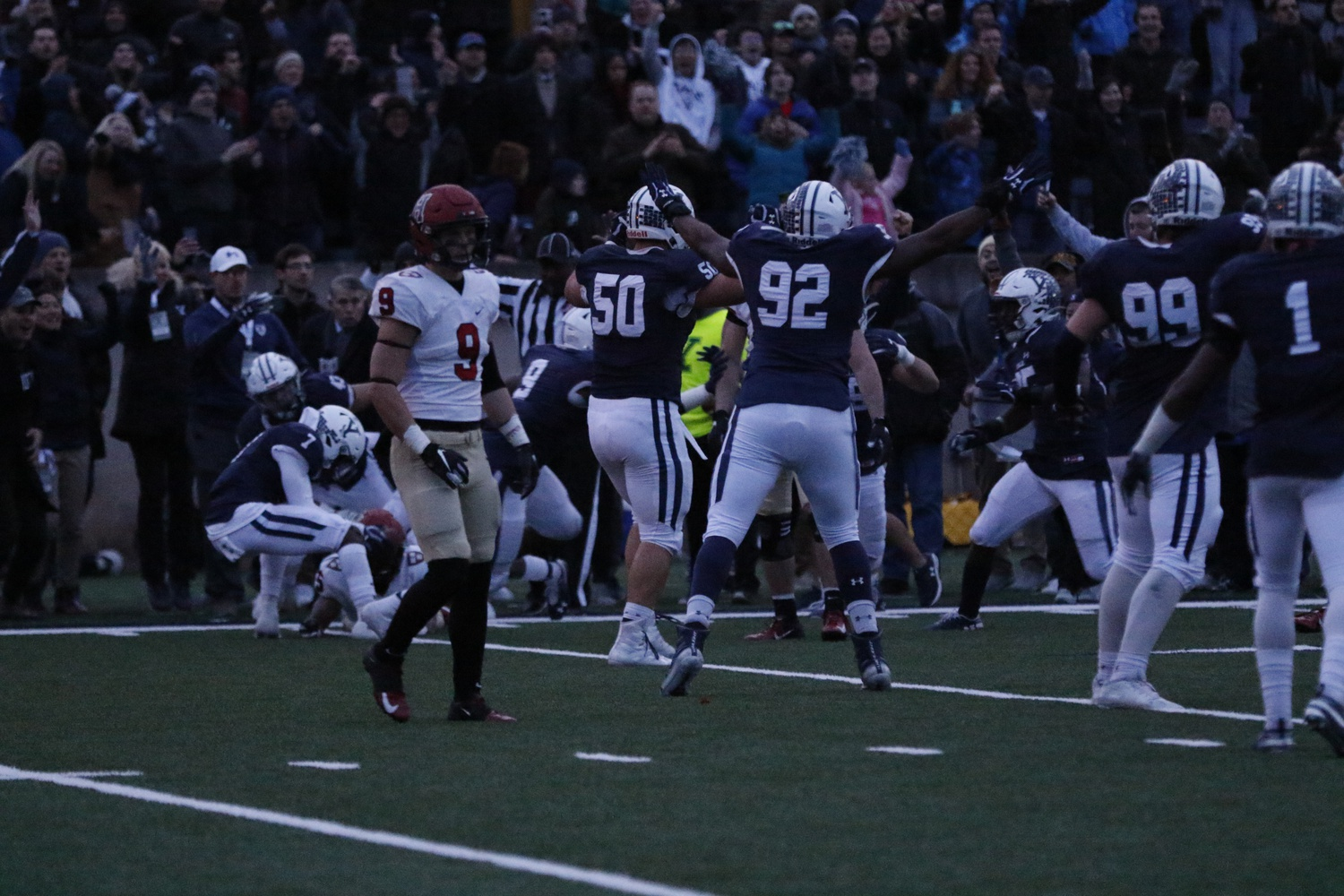 Yale pulled out its heart-wrenching comeback amidst the cover of darkness thanks to the Yale Bowl's lack of lights.
