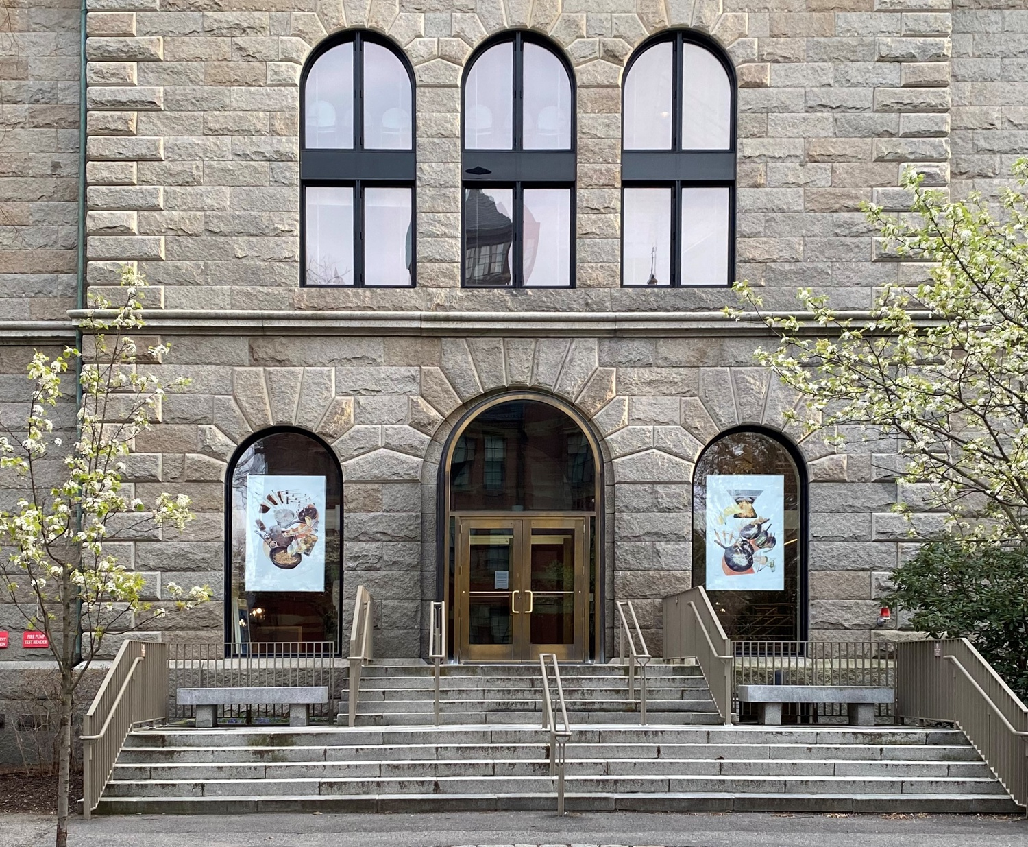 The department of Romance Languages and Literatures is located in Boylston Hall.