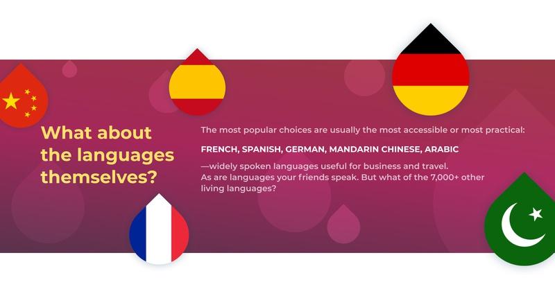 Drops Popular Languages