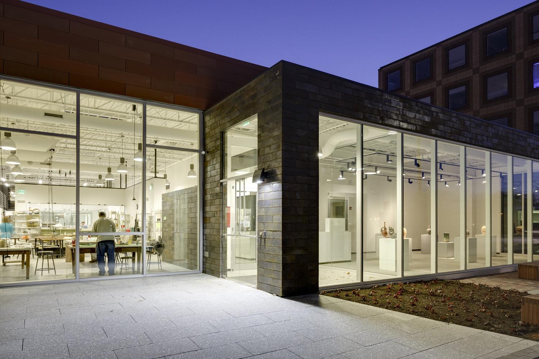 The Harvard Ceramics Program normally operates in Allston.